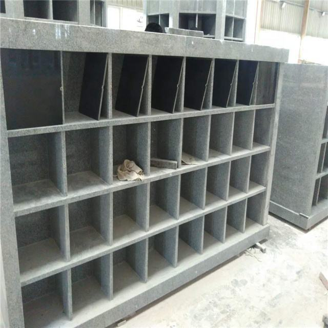 G603 Sesame Gray Granite Columbarium
