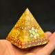 Aura Orgone Energy Converter Orgonite Pyramid Chakra Quartz Soothe The Soul Aventurine Resin Cube EMF Protection Healing