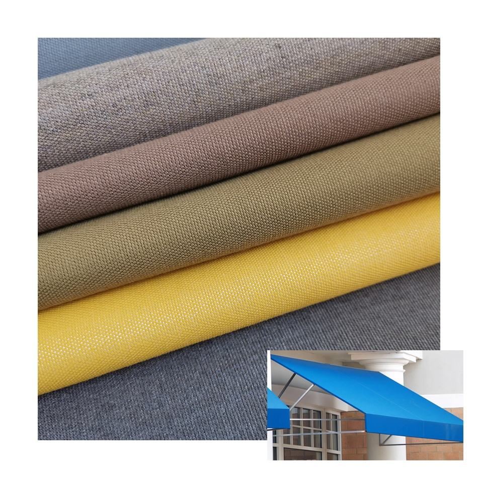 10+ year Warranty ! Factory Price 100% solution dyed acrylic fabric outdoor awning fabric sun umbrella fabric