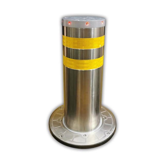 CE Certified Traffic Road Automatic Stainless Steel Hydraulic Bollard Barrier