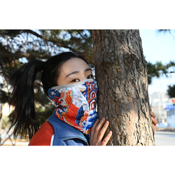 Soft Dust Sun UV Protection Face Scarf Ice Silk Fabric Mask for Hot Summer Cycling Hiking Fishing