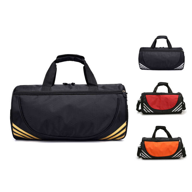 V343 Customized logo lightweight nylon travel bags cheap duffle bag sport gym