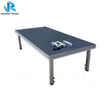 Good price aluminum portable stage platform, used portable stage for sale
