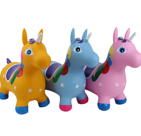 Eco-friendly PVC Jumping Animal Toys for Kids
