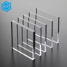 1mm 3mm 4mm 6mm Clear Cast Extruded Polystyrene PMMA Acrylic Plastic Perspex Plexi Glass Wall Sheets Board Panel 4x8 Fabricator