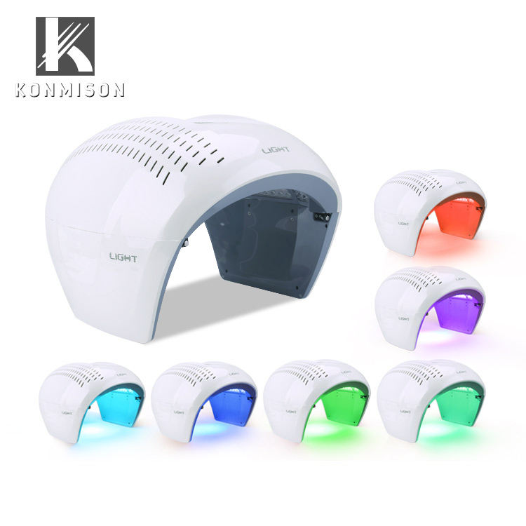 Electric 7 color LED light PDT Therapy Skin Care Beauty Machine for Face and Body