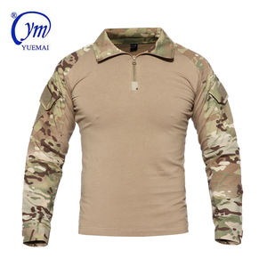 Tactical Military Outdoor Camouflage Shirt Army Frog Combat Suit