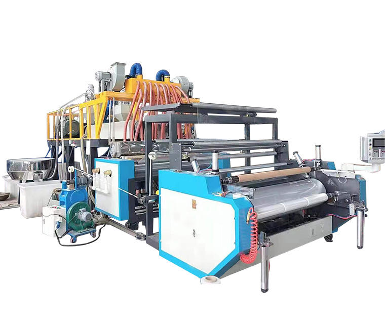 Cast Pe Stretch Film Making Machine/Plastic Productielijn
