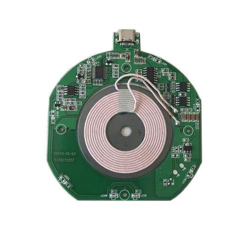Qi standard ultra thin wireless charger type-C One stop service pcb assembly precise, smt pcb assembly quality
