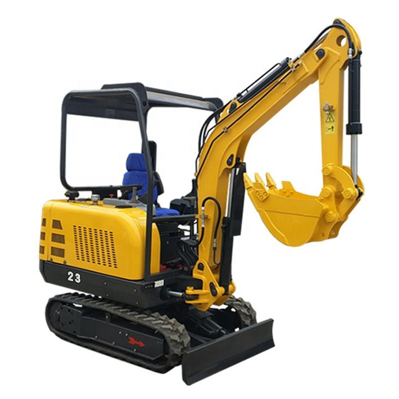 Low price hydraulic mini crawler excavator bagger Chinese excavator for sale