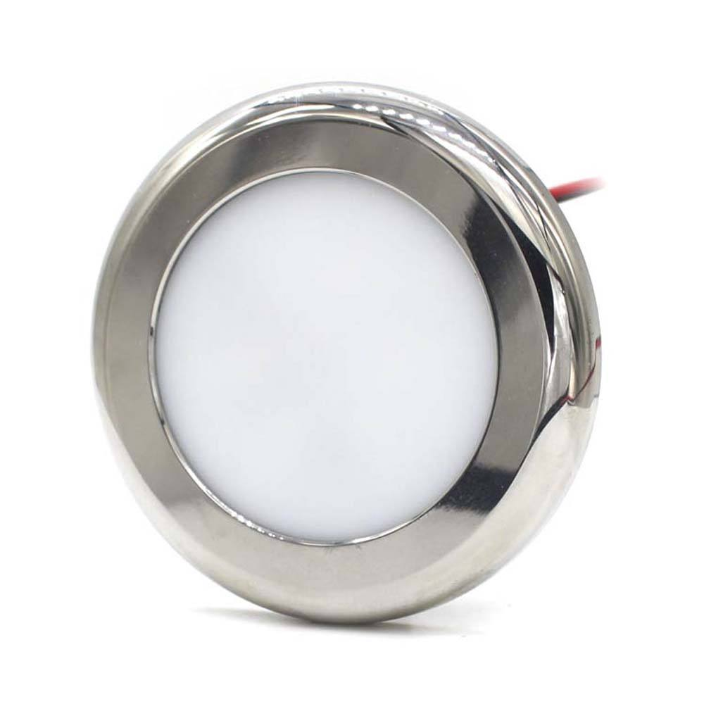 WEIKEN Modern Design Stainless Steel Casing 12V Led Dome Light LED Ceiling Lights