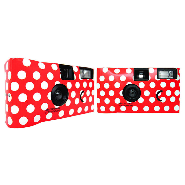 Factory directly OEM/ODM Customized Cheap Quick Snap Single-Use Disposable Flash Camera 35mm Film camera