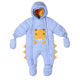 Kids Clothing Long Sleeve Hooded Down Clothes Infant Boy Overall Baby Romper Set
