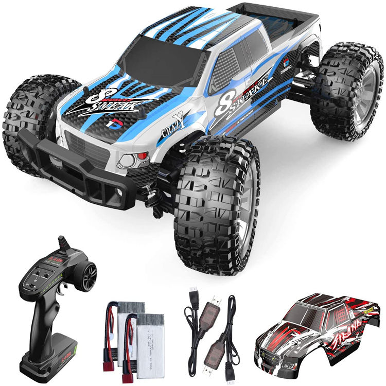 DEERC 9200E RC Cars 1:10 Scale Large High Speed Remote Control Car für Adults Kids 48 + MPH 4WD 4x4 Off Road Monster Trucks Toy