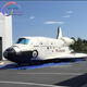 Customized Giant inflatable airplane space shuttle for advertising new design