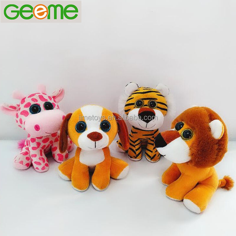 JM9156 Hot Sale Promotional Plush Big Eyes Stuffed Toy Animals