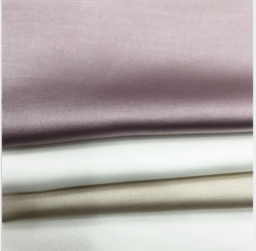 China new product wholesale High quality high quality viscose crinkle recycled satin fabric