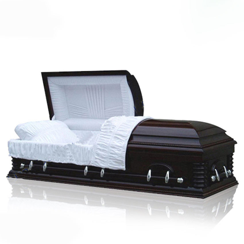 Qualified funeral adult casket lowering device from the casket manufacturer