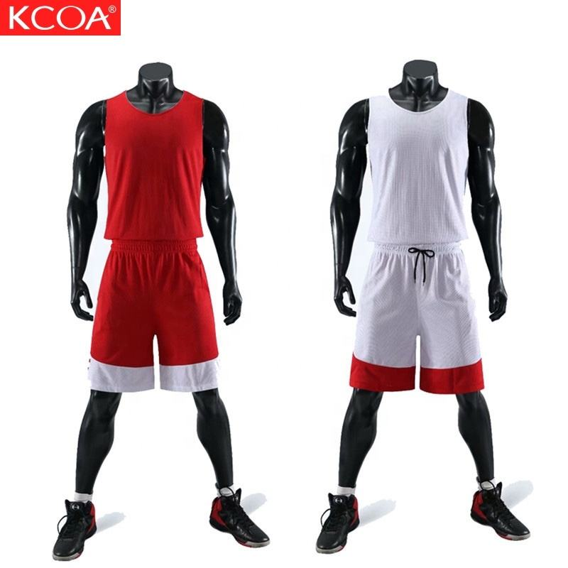 Low Price Stocked Promotional Custom Reversible Basketball Shorts And Jerseys