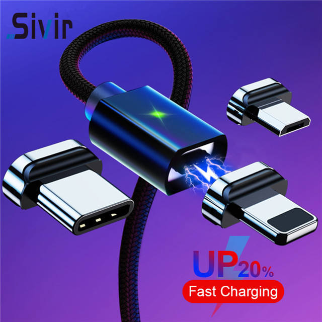 led magnetic charging cable Design of interface card slot fast charging magnetic cable for iphone 11/ x /huawei/micro cable