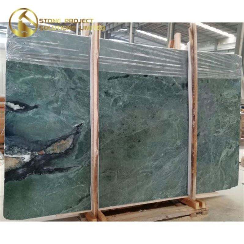 Good Price Taiwan B Medium Hualien Green Marble For House Decoration