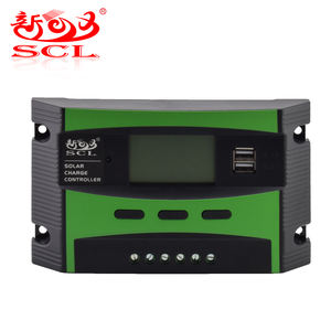 Sunchonglic 12V/24V 20A Manual PWM Solar Charge Controller