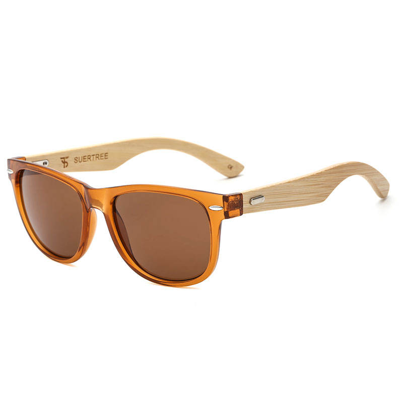 Shanghai Jheyewear Custom Engraved Bamboo Wood Mens Sun Glasses Wooden Shades Sunglasses 2019