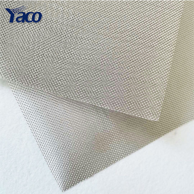 30 40 80 100mesh stainless steel woven wire mesh 3' 4' rolls / plain weave 300 400 micron SS304 wire mesh screen filter cement