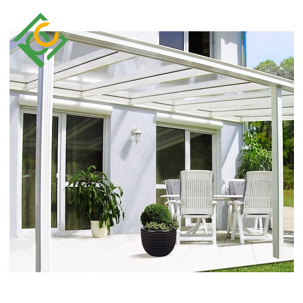 Outdoor Awning Canopy Patio Cover Kit UV Rain Sunshine polycarbonate window canopy
