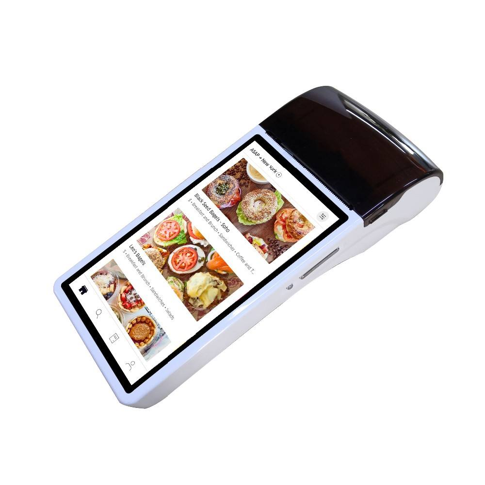 Touch Screen Betaling Tablet Terminal android handheld mobiele pos terminal systeem met printer