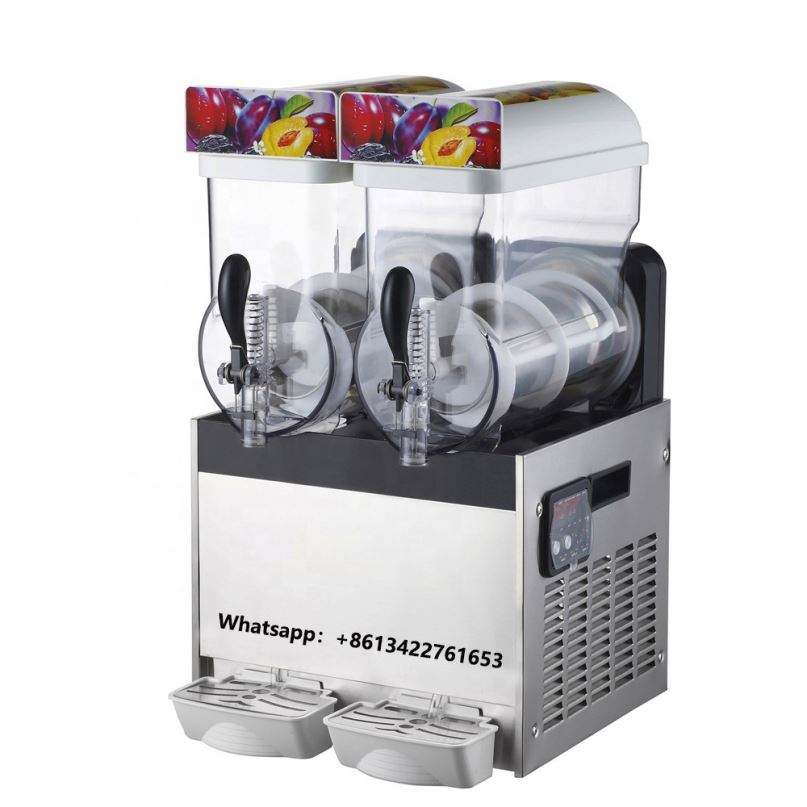 30L 2 Bowl Commercial Carbonated Granita Slush Making Machine/Slush Machine