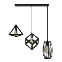 China modern pendent lobby lighting metal iron lampshade chandelier pendant light