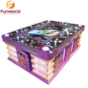 Money Back Guarantee US Plug Fish Game Table Gambling Machines For Sale