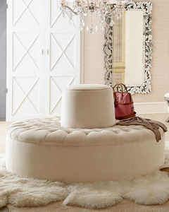 New model product hotel circular modern living room tufted round velvet sectional button-tufted sofa