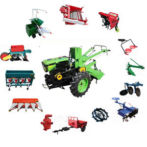 2019 neue Agricultural Farm garten traktor multifunktions deutsch elektrische mini weeder grubber power pinne diesel motocultor