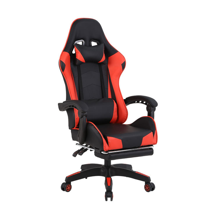 Free Sample Pc Office Racing Computer Scorpion Reclining Leather Autofull Gamer Dropshipping Led Gaming Chair With Footrest