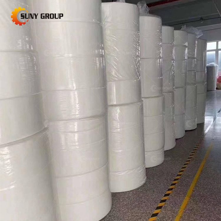 Meltblown Nonwoven Fabric Material For Masks Suny 25Gsm PFE 95%-99% Meltblown Nonwoven Fabric
