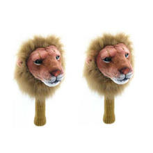 New Iron club  head cover Plush Golf Animal Headcovers