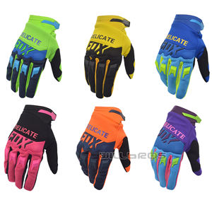 Delicate Fox Air Mesh Cycling Race Gloves Dirtpaw Motorbike Street Moto Riding Motocross Motorcycle Bike Glove