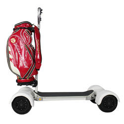 Lithium Battery 4 wheel Electric Scooter Golf Carts With Speed Controller Electric Golf cart Scooter