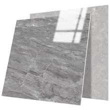 Marble tile 800x800 simple modern gray dining room non-slip wear-resistant tile floor