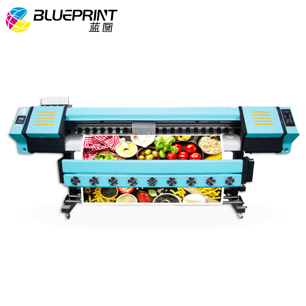 Competitive price digital printing machine 1.8m eco solvent printer with DX5 printhead