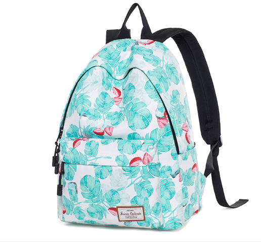 Japan and South Korea Backpack College Style Print Backpack Trend Backpack