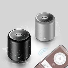 TWS EWA A107 Mini BT Twins Portable Metal classic Bluetooth WirelessSpeaker Stereo Sound