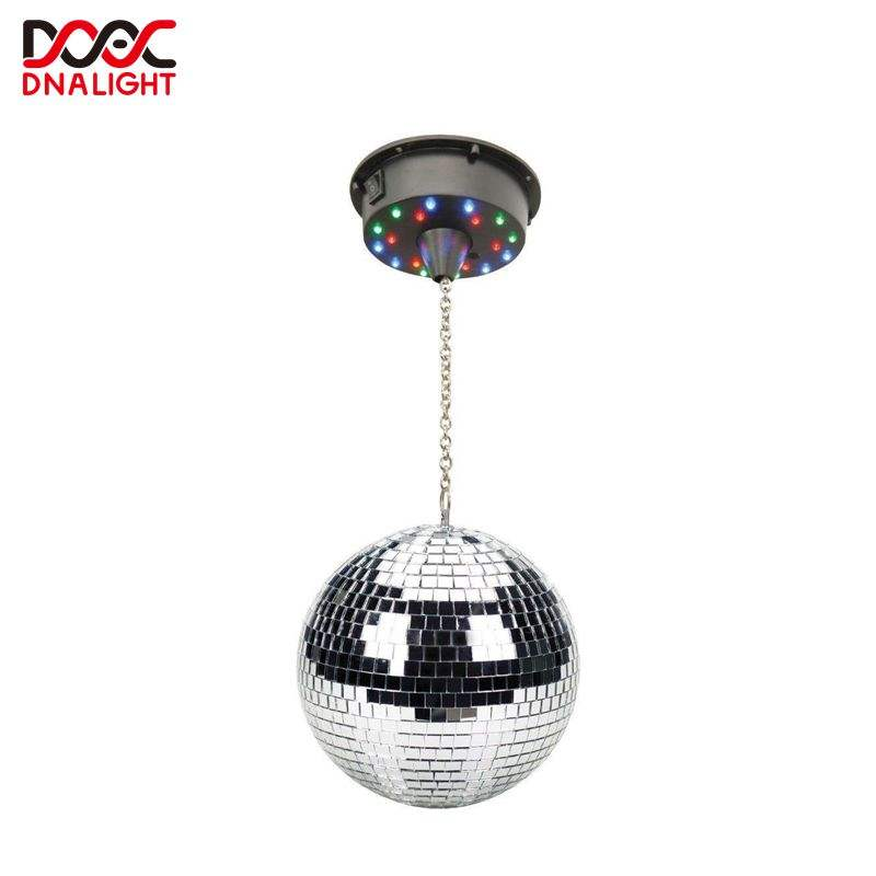 Professional disco ball lights night club stage dj light gold disco mirror ball
