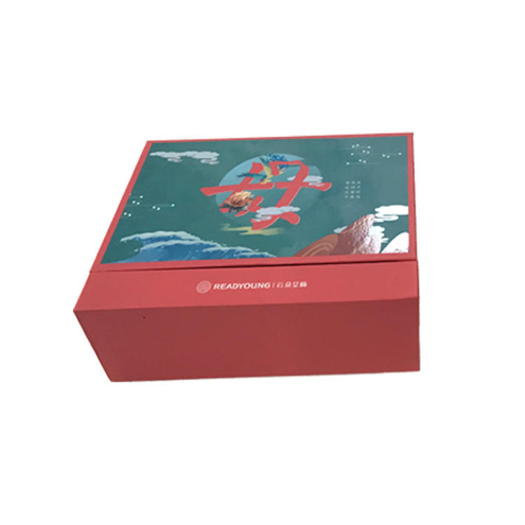 Eco-Friendly China Manufacturer Colourful Paper Custom Gift Boxes With Satin