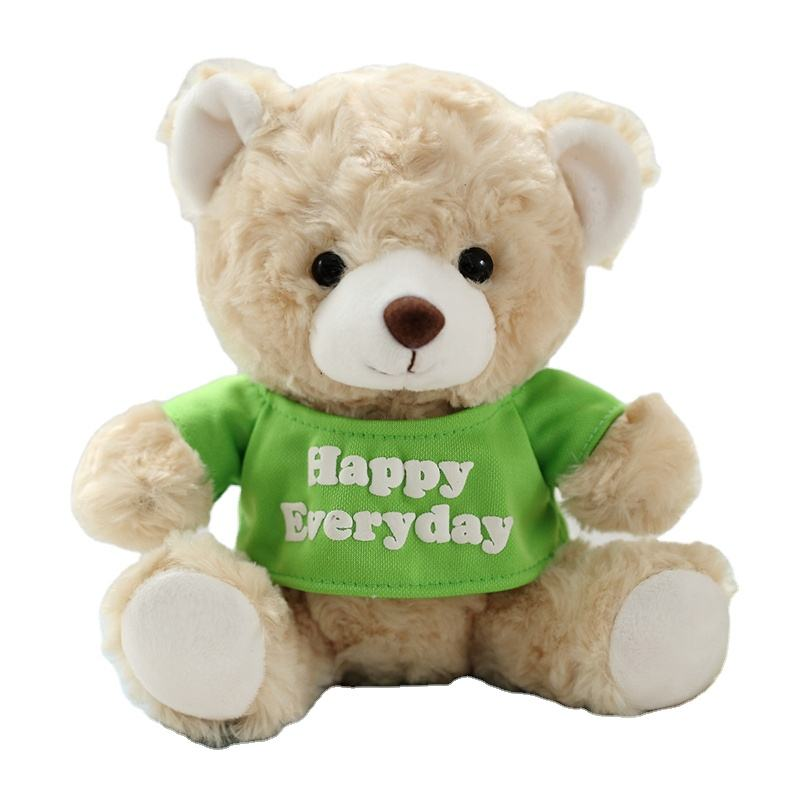 Qingdao Manufacture direct supplier wholesale big Christmas colorful customized green teddy bear for kids