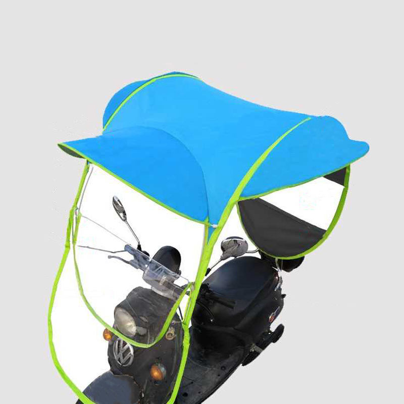 Motorcycle canopy motorbike roof sun visor shade tent umbrella motor bicycle umbrella
