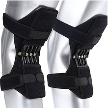 Support Power Lifter  Stabilized Open Patella Powerful Rebound Spring Force Booster Knee Brace