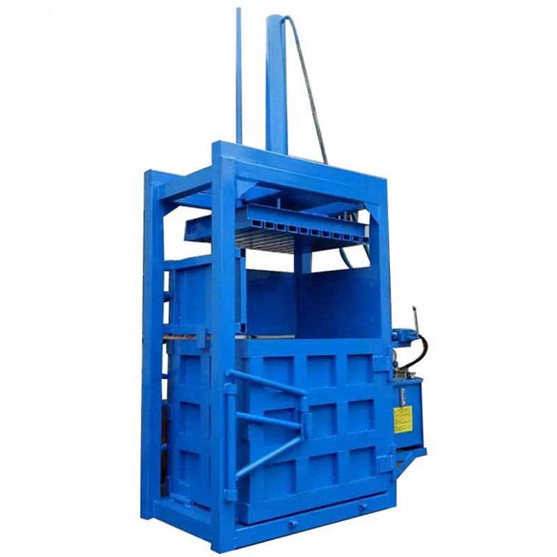 Vertical Cardboard Baler/ Seaweed Baling Machine model 10 tons to 100 tons for hot sale